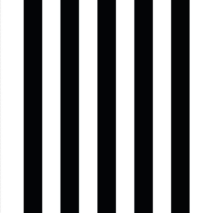 Giant Deckchair  with Black Stripes