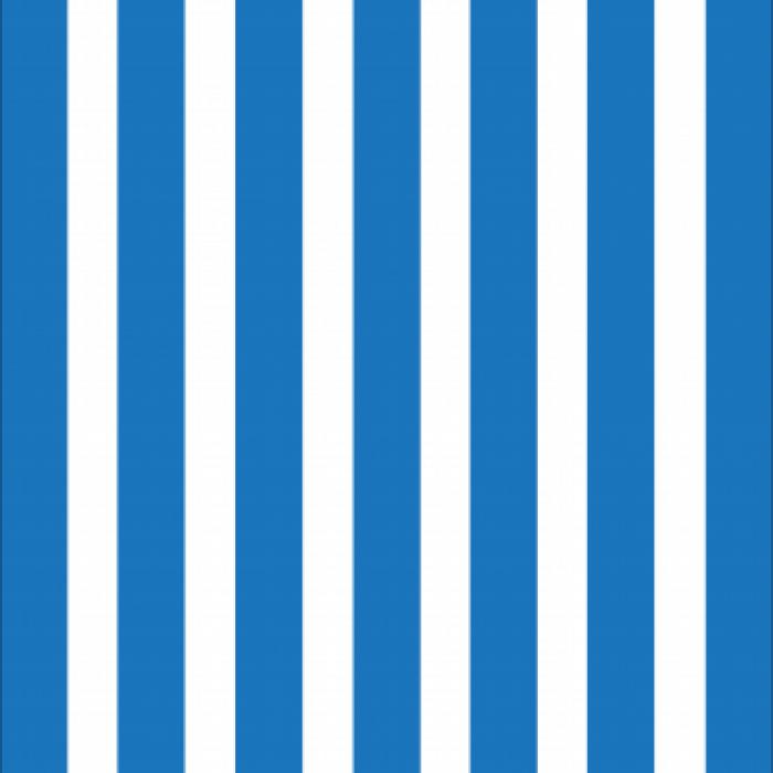 Giant Deckchair  with Blue Stripes