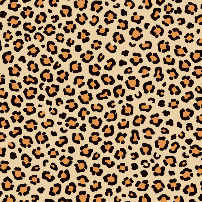 Pet Deckchair  with Leopard