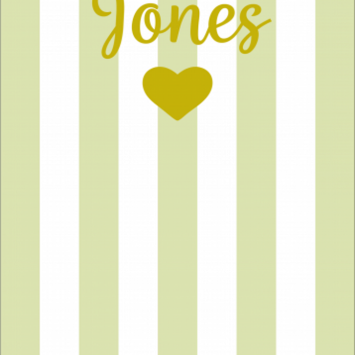 Pet Deckchair  with Mr & Mrs Wedding - Customisable - Taupe