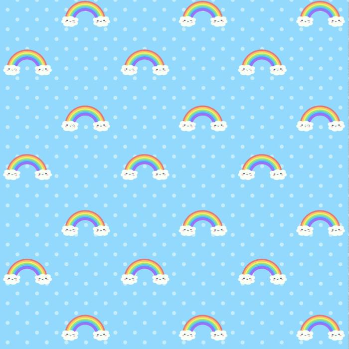 Junior Deckchair  with Rainbow