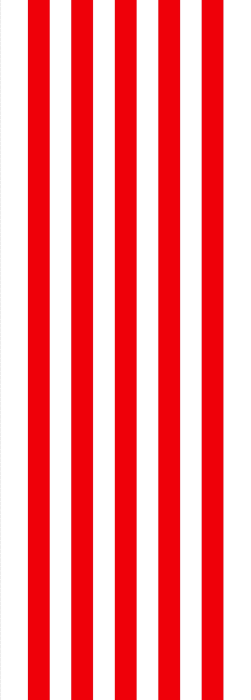 Red and white stripe deck chair