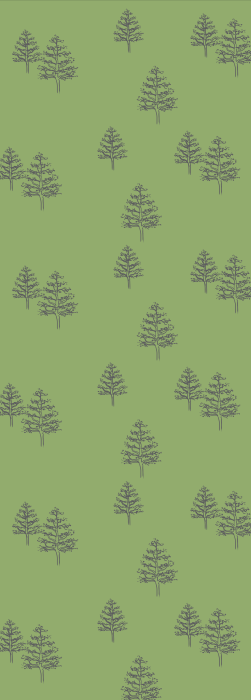 Woodland and Tree deck chair fabric