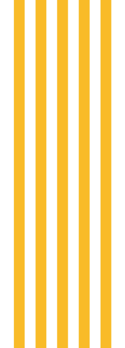 Yellow and white stripe deckchair fabric for deck chairs