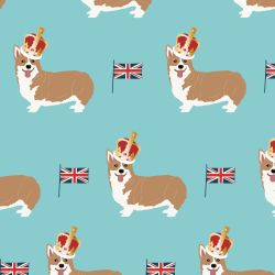 Corgis print for Elbury - Junior
