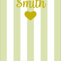 Mrs & Mrs - Customisable - Taupe print for Pet Deckchair