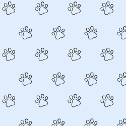 Paw Outline print for Elbury - Junior