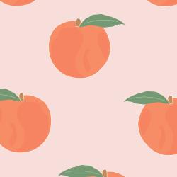 Peaches print for Bantham - Tiny