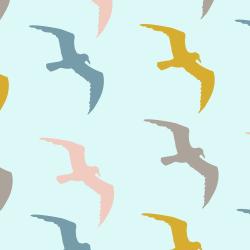 Seagulls print for Bantham - Tiny