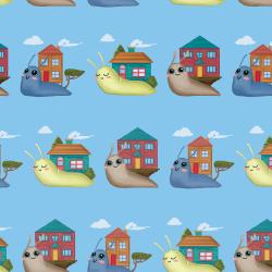 Snails - Blue print for Bantham - Tiny