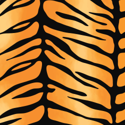 Tiger Stripes print for Croyde - Classic
