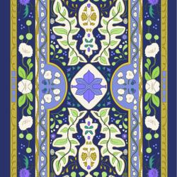 Twilight Tapestry print for Bantham - Tiny
