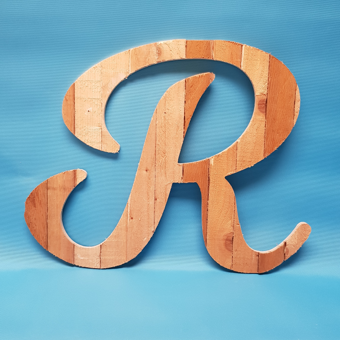 Large Rustic Letters