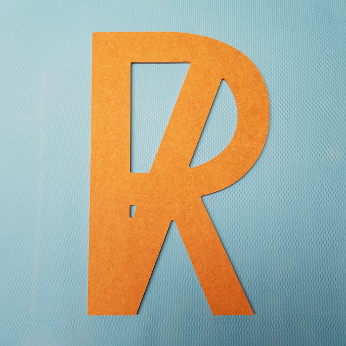 MDF letters 3