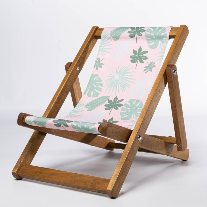 Botanicals print for Bantham Deckchair