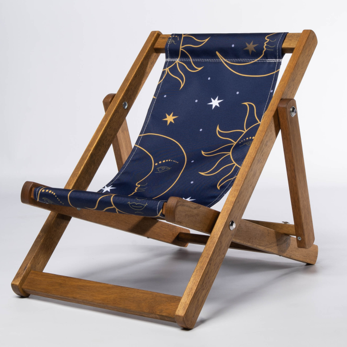 Celestial print for Bantham Deckchair
