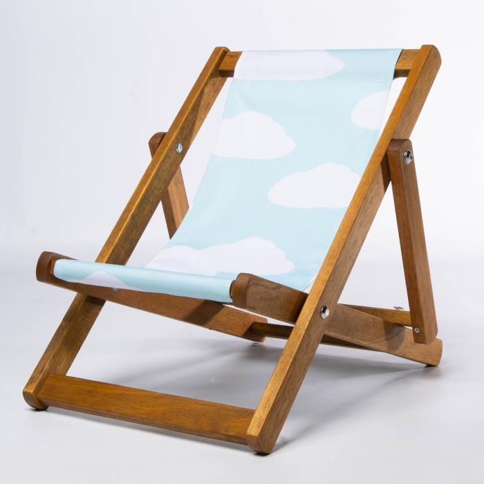 Clouds print for Bantham Deckchair
