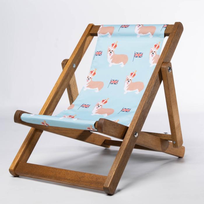 Corgis print for Bantham Deckchair