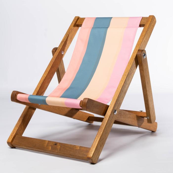 Dark Stripes print for Bantham Deckchair