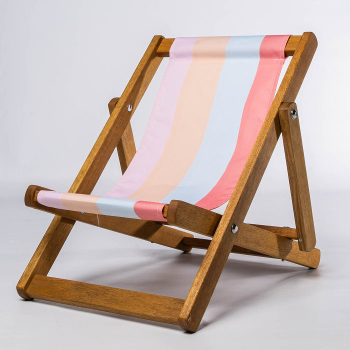 Ice Cream Stripes print for Bantham Deckchair