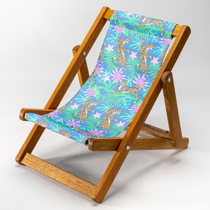 Jungle Tigers print for Bantham Deckchair