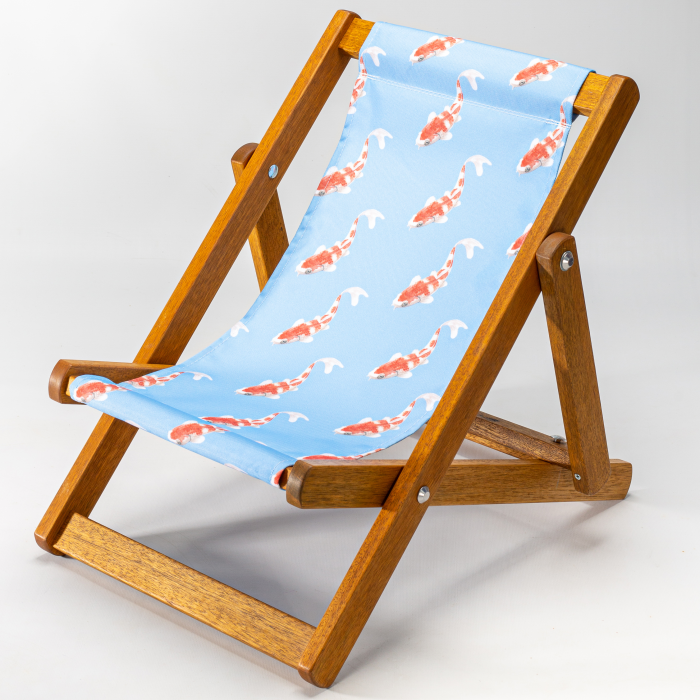 Koi - Blue print for Bantham Deckchair