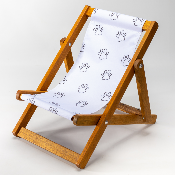 Paw Outline print for Bantham Deckchair