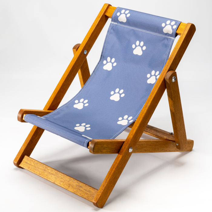 Tiny Deckchair  with Paws Truly