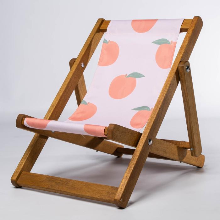 Peaches print for Bantham Deckchair