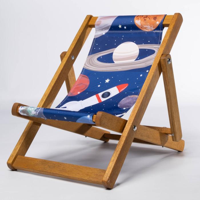 Planets print for Bantham Deckchair