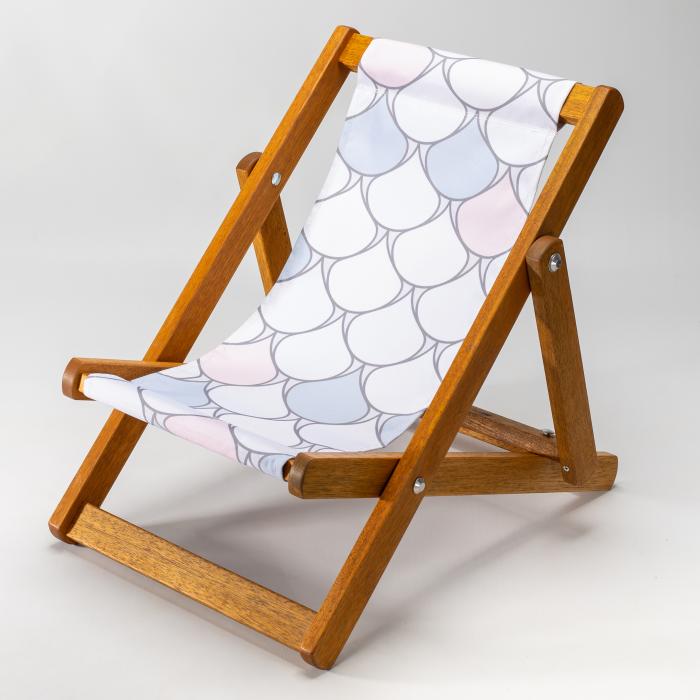 Scallops print for Bantham Deckchair
