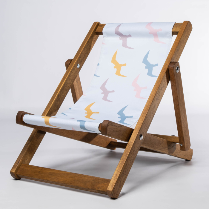 Seagulls print for Bantham Deckchair