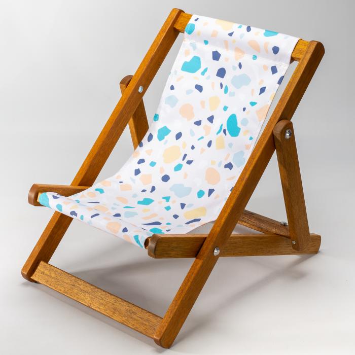 Terrazzo print for Bantham Deckchair