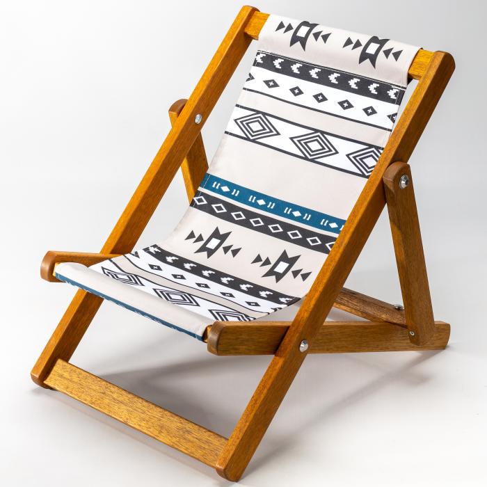 Tribal print for Bantham Deckchair
