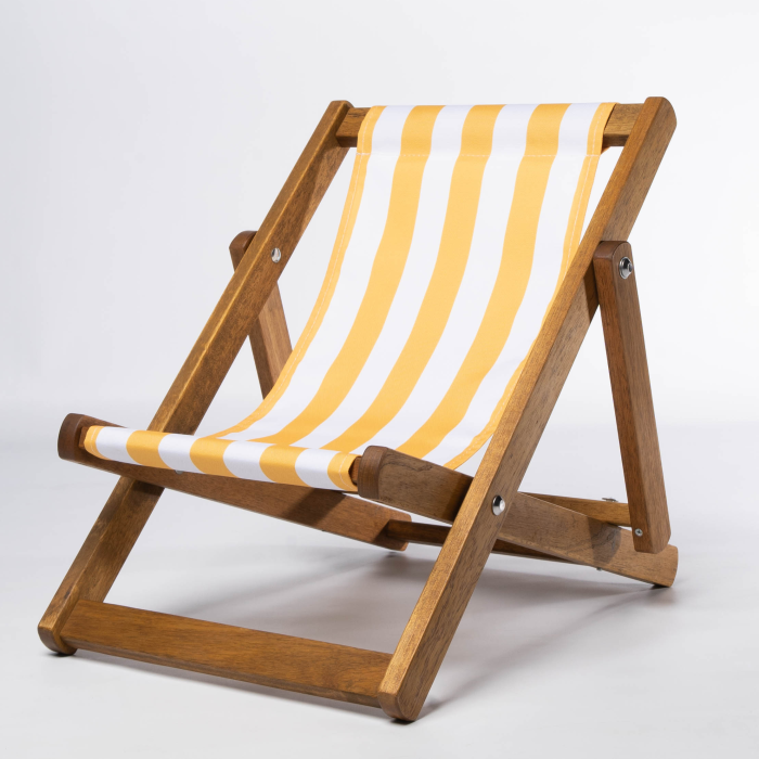 Yellow Stripes print for Bantham Deckchair