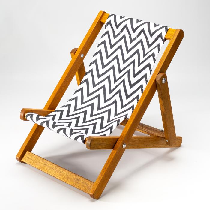 Zigzag print for Bantham Deckchair