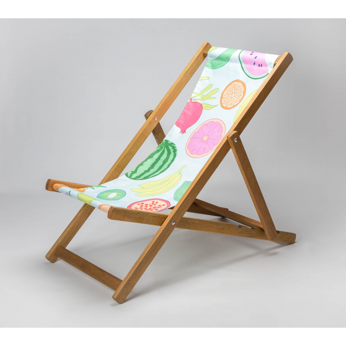 Assorted Fruit print for Croyde Deckchair