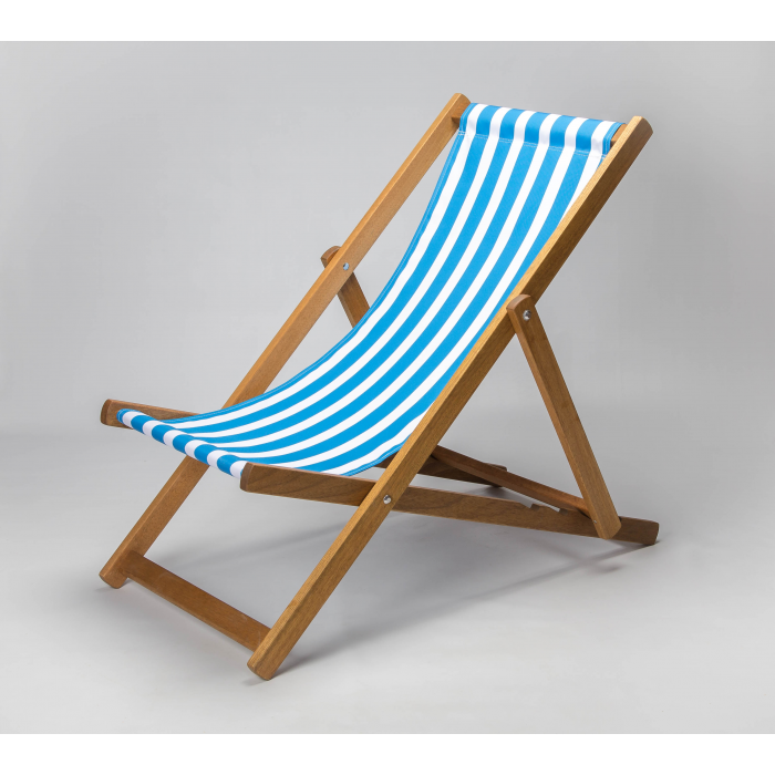 Blue Stripes print for Croyde Deckchair