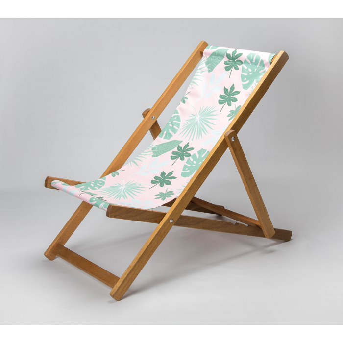 Botanicals print for Croyde Deckchair