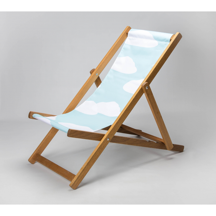 Clouds print for Croyde Deckchair