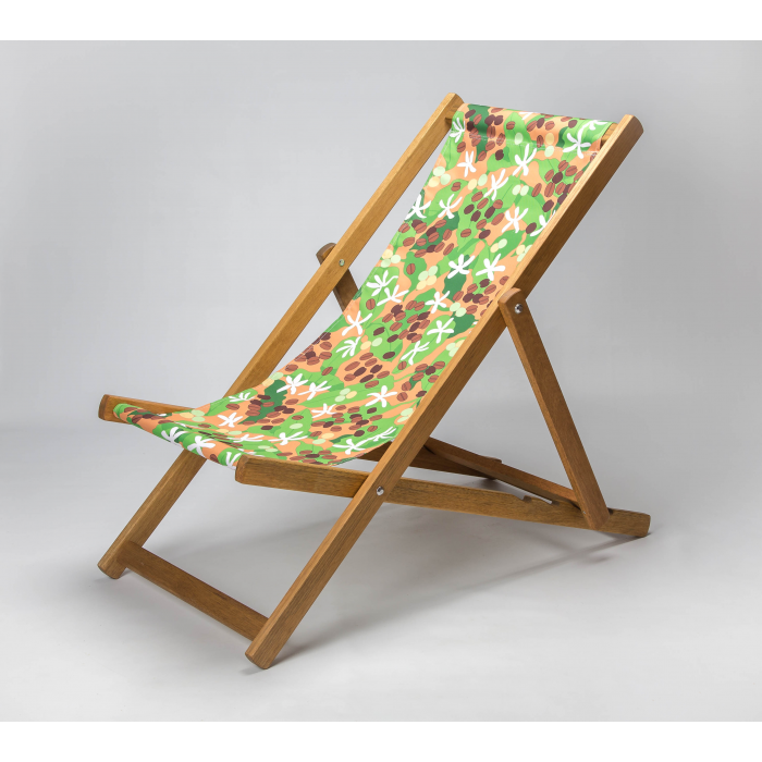 Coffee print for Croyde Deckchair