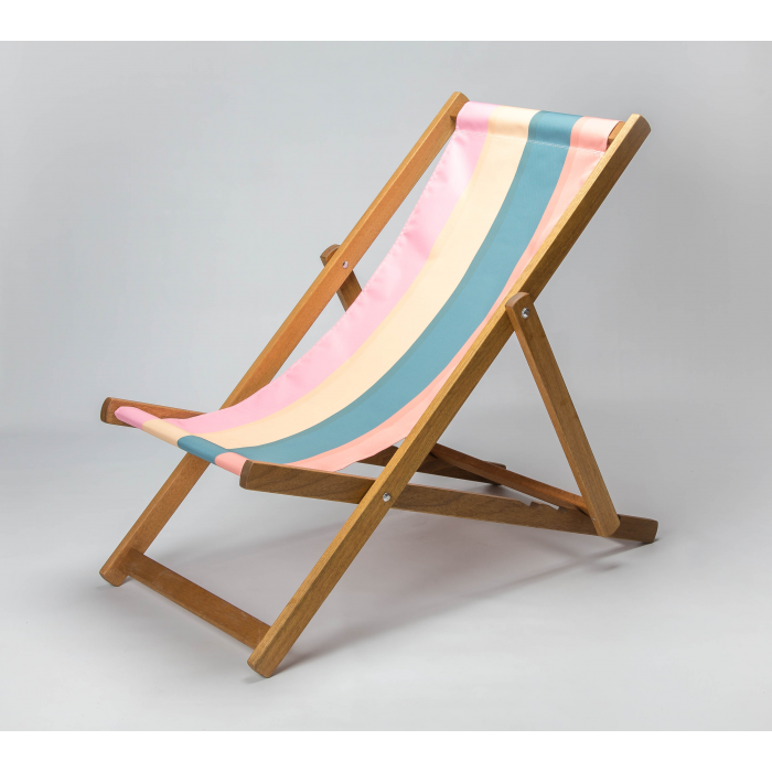 Dark Stripes print for Croyde Deckchair