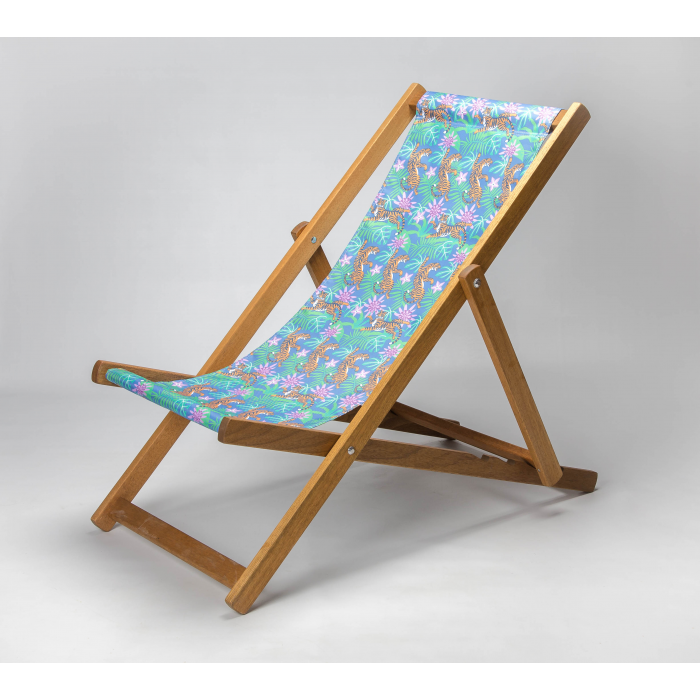 Jungle Tigers print for Croyde Deckchair