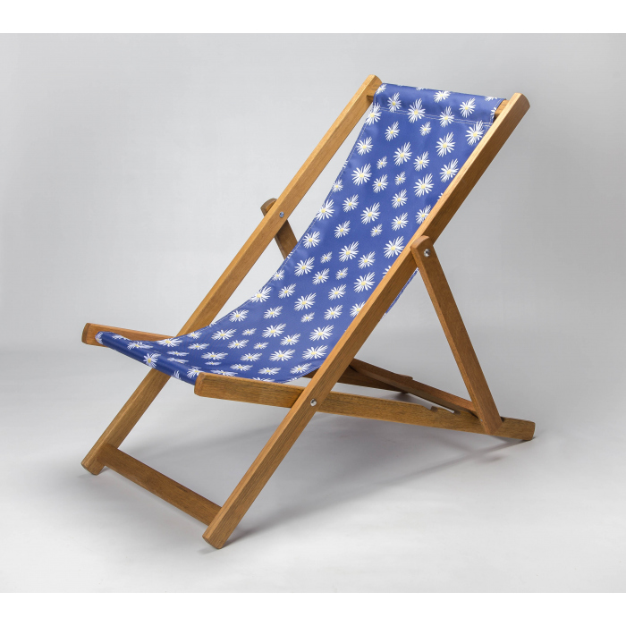 Michaelmas Daisy print for Croyde Deckchair