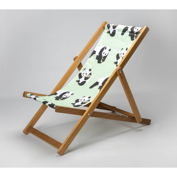 Panda print for Croyde Deckchair