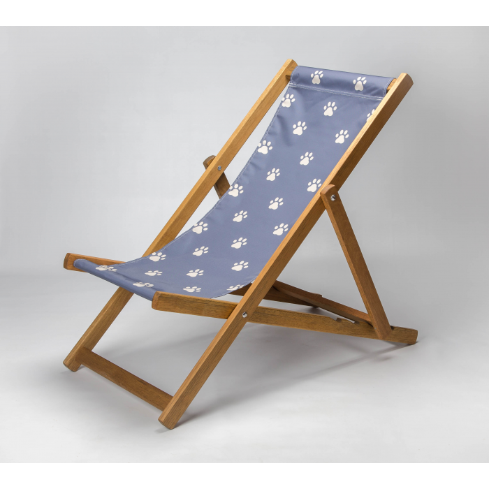 Paws Truly print for Croyde Deckchair