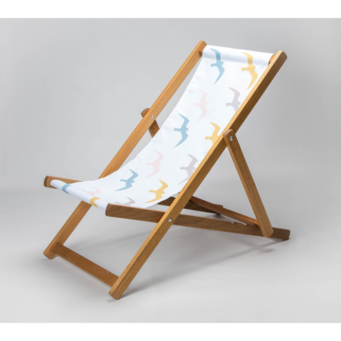 Seagulls print for Croyde Deckchair