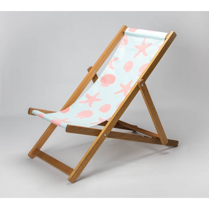 Seashells print for Croyde Deckchair