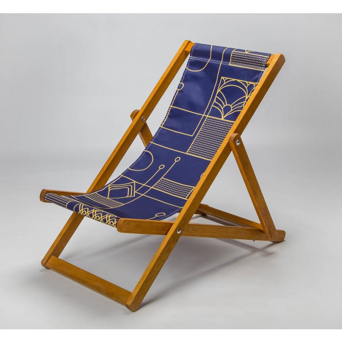 Art deco deckchair