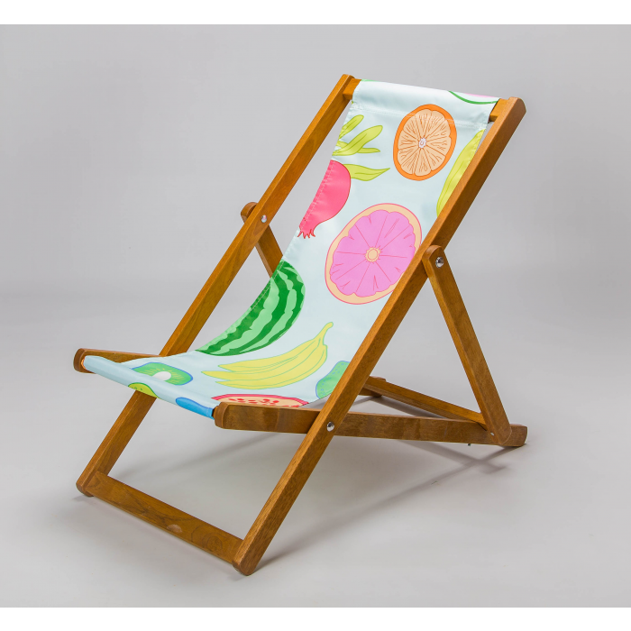 colourful fruity deckchair